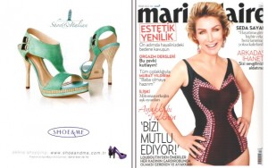 Marie Claire - Nisan 2012 - İlan